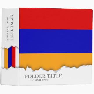 Armenian Flag Binders