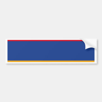 Armenian flag bumper sticker