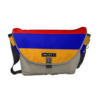 Armenian Flag Commuter Bags