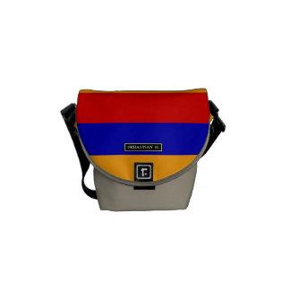 Armenian Flag Courier Bags