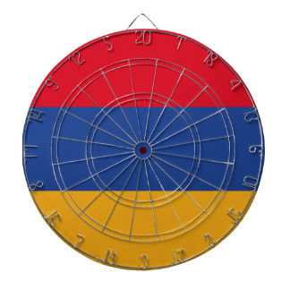 Armenian flag dartboard