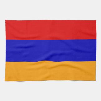 Armenian Flag Hand Towels