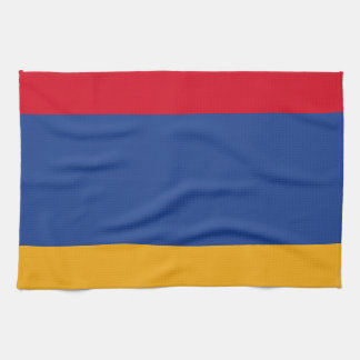 Armenian flag kitchen towels