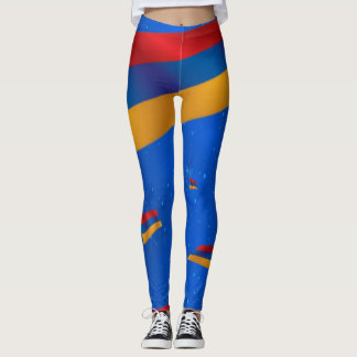 Armenian Flag Leggings  Եռագույն