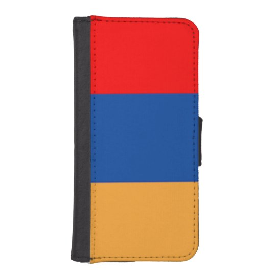 Armenian Flag Phone Wallet Case