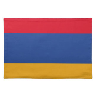 Armenian flag placemat