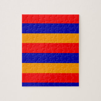 Armenian Flag Puzzle | Size: 8x10 with Gift Box.