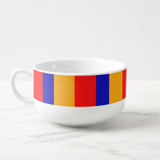 Armenian Flag Soup Mug