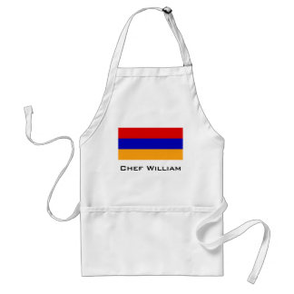 Armenian Flag Standard Apron