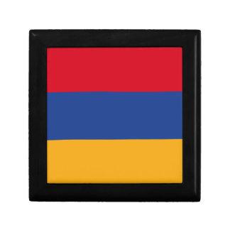 Armenian flag trinket boxes