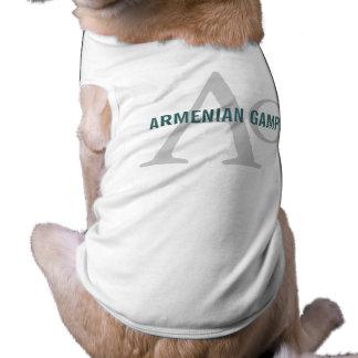 Armenian Gampr Breed Monogram Pet Shirt