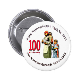 Armenian Genocide Memorial Round Button