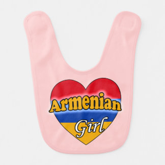 Armenian Girl Bib