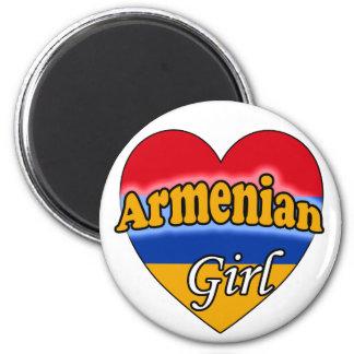 Armenian Girl Magnet