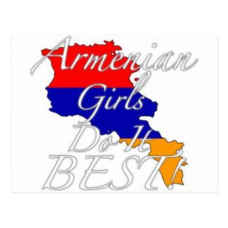 Armenian Girls Do It Best! Postcard
