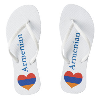 Armenian Heart | Beach Sandals