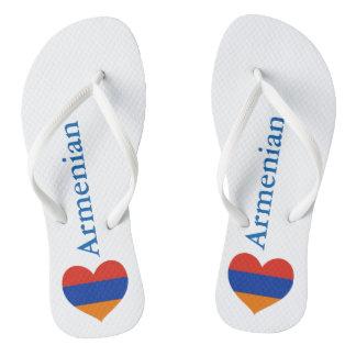 Armenian Heart | Beach Sandals Flip Flops