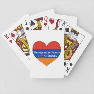Armenian Heart Playing Cards | Poker.