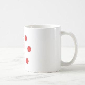 Armenian Language and Peace Symbol Design Coffee Mug