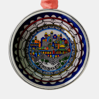 Armenian Painted Plate Ornament