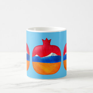 Armenian Pomegranate Flag Mug