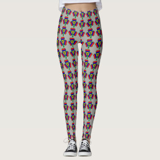 Armenian Shamrock Flag Leggings Եռագույն