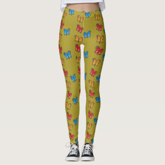 Armenian Tricolor Butterfly Leggings  Եռագույն