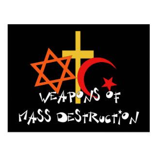 Armes de destruction massive cartes postales