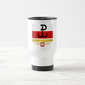 Armia Krajowa Travel Mug