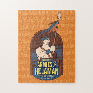 Armies of Helaman. customizable puzzle. Jigsaw Puzzle