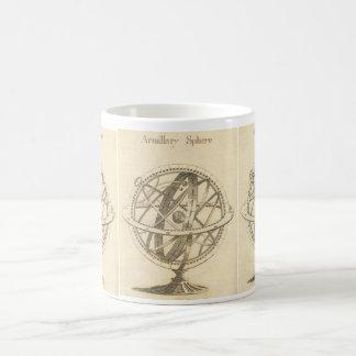 Armillary Sphere Original Sketch Coffee Mug