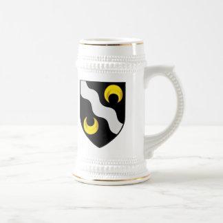 Armoirie-crête d'avec de Pichet Tasse À Café