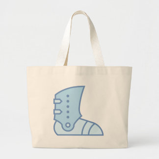 Armor Boot Large Tote Bag