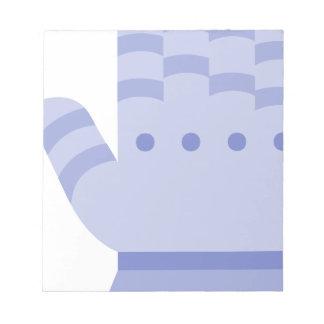 Armor Glove Notepad