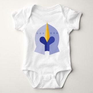 Armor Helmet Baby Bodysuit