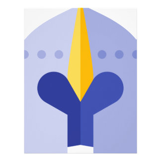 Armor Helmet Letterhead