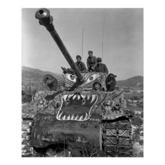 Armor in Korea Poster