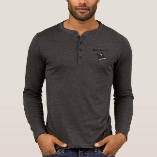 Armor of God Henley Long Sleeve Shirt w/Bible