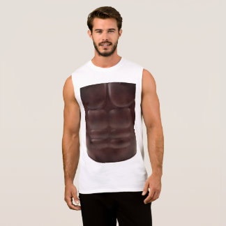 Armored Chest Sleeveless Shirt