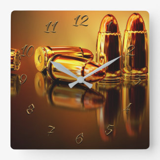 Armory Square Wall Clock