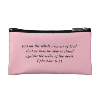 Armour of God Cosmetic Bag with Armour