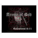 Armour of God Ephesians 6:11 Poster Print