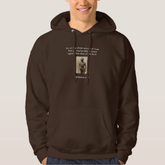 Armour of God Men's Hoodie w/Armour