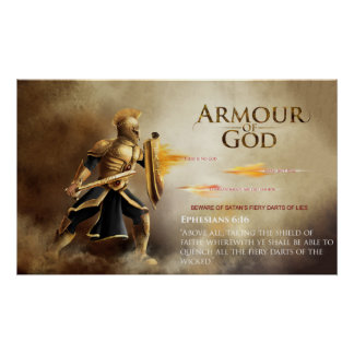 Armour of God Poster - Satan's Lies