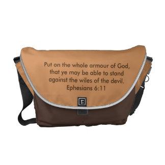 Armour of God Rickshaw Messenger Bag w/Armour
