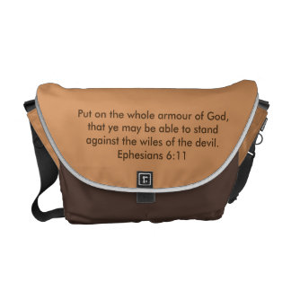 Armour of God Rickshaw Messenger Bag w/Bible