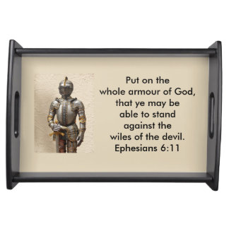 Armour of God Serving Tray w/Armour