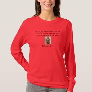 Armour of God Women's Long Sleeve T-Shirt w/Armour