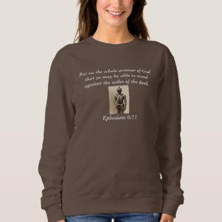 Armour of God Women's Sweatshirt w/Armour