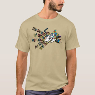 Armour Shark Men's T-Shirt with Rumi Quote